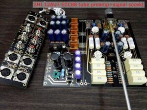 12AU7 ECC88 Tube preamplifier Fully Balanced preamp refer ARC circuit by ZHI