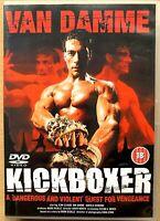 Kickboxer DVD Original 1989 Jean Claude Van Damme Martial Arts Film Classic