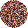 Round Felt Ball Rug - Nepalese Handmade 100% Wool Multicolour Felted Wool Rugs