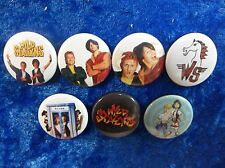 """1"""" pinback buttons inspired  by """"Bill and Ted""""  wyld stallyns"""