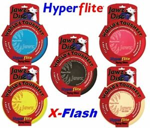 Hyperflite JAWZ Dog Frisbee Disc Adult or Pup Flying Disc Puncture Resistant