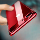 For iPhone 7 8 X Plus 6 6S Ultra Slim Clear Soft TPU Rubber Hard Back Case Cover