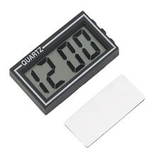 Digital LCD Table Car Dashboard Desk Date Time Calendar Small Clock AZ