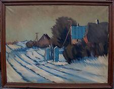 Arnold William Pedersen 1912-1986 Zuschreibung, Blaue Pforte, um 1960