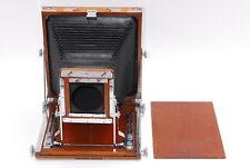 【EXC+++++】 NAGAOKA Seisakusho 8x10 Wood Field Large Format Camera From JAPAN