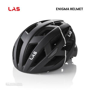 NEW 2021 LAS ENIGMA Road/MTB Cycling Helmet : MATTE BLACK