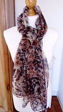 Écharpe foulard panthère