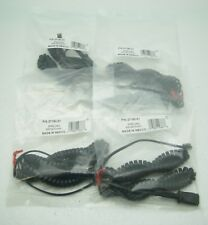 Lot of 4 U10P Polaris Cable RJ9 to QD Adapter Cable for Plantronic H-Top Headset