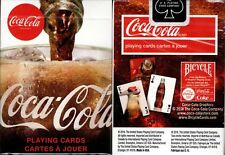 Coca-Cola 2019 Playing Cards Poker Size Deck USPCC Custom Limited New Sealed