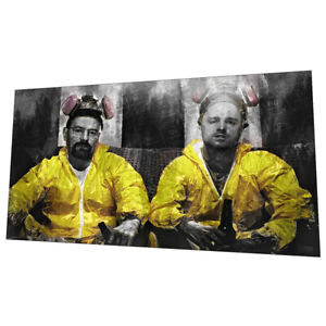 """Breaking Bad """"Popping Caps"""" Wall Art - Graphic Art Poster"""