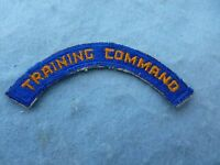 WWII US Army Air Force Patch Training Command Cadre Tab WWII