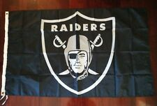Oakland Raiders 3x5 Flag. US seller. Free shipping within the US