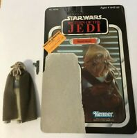 Star Wars Vintage Squid Head COMPLETE with 65A cardback-UNPUNCHED AND UNCUT