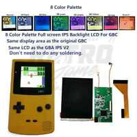 Game Boy Color IPS Backlight with Colored Palettes