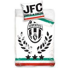 JUVENTUS FC DUVET COVER SET NEW FOOTBALL JUVE