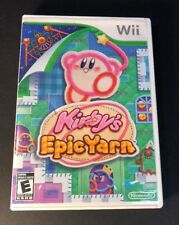 Kirby's Epic Yarn (Wii) USED