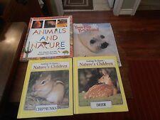 Nature's Children Deer & Rabbits Chipmunks & Beavers Big Backyard Animals&Nature