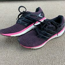 Adidas Energy Boost Reveal Women's Running Shoes M18820 Size 7.5 Pink Purple