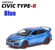 1:32 Scale BLUE Honda Civic Type R FK8 Model Car Die-cast Gift Toy Vehicle