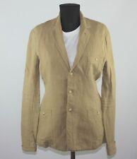 Ralph Lauren womens beige linen blazer jacket Size 6