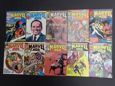 Marvel Age #21,22,23,24,25,26,27,28,29,30 NM 1984 Lot of 10 High Grade