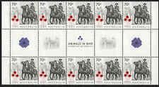 2015 AUSTRALIA Animals In War (10) GUTTER STRIP (70c soldier on horseback) MNH