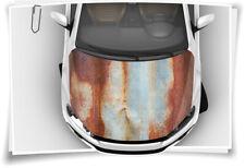 Rost Blech Alt Verostet Stahl Motorhaube Auto-Aufkleber Steinschlag-Schutz-Folie