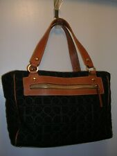 Kate Spade KS P091 Wool and Leather medium tote
