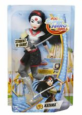 DC Super Hero Girls Katana Kids Action Figure 12inch Doll Role-Play Comic Toy