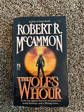 The Wolfs Hour By Robert McCammon 1990 Vintage Paperback