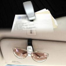 Gray Silver Car Sun Eye Glasses Glass Shield Visor Card Holder Clip Tool Carrier
