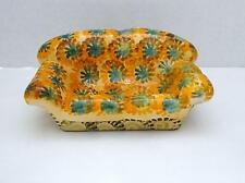 VINTAGE Handcrafted Ceramic Pottery Love Seat Couch Home Decor Made in Italy