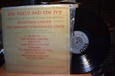 Mormon Tabernacle Choir Holly and the Ivy LP Columbia 6 Eye ML 5592 Mono