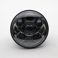 "45W 5.75"" LED Hi/Lo Light Lens Harley Sportster,Iron 883,Dyna,Street Bob FXDB"