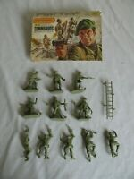 Matchbox 1/32 Scale British Commandos Combat Troops Playset Figures #P6006 EX