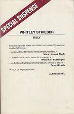 BILLY / WHITLEY STRIEBER / ALBIN MICHEL