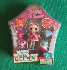 Brand NEW! Collectible Mini Lalaloopsy Suzette La Sweet 3 inches Doll + 4 access