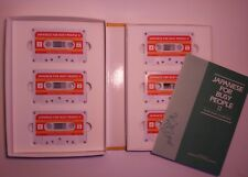 Japanese for Busy People: Vol 2 Six 60-minute Audio Cassette Tapes 36 Lessons!