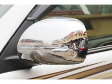 2pcs Chrome Rear mirror Decoration Cover trims For Toyota PRADO FJ120 2003-2009