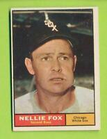 1961 Topps - Nellie Fox (#30)  Chicago White Sox  DK