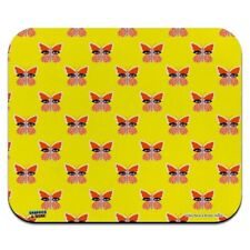 Butterfly Eyes Low Profile Thin Mouse Pad Mousepad