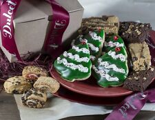 Dulcet's Holiday Festive Gift Assortment with Cookies Brownies, and Rugelach