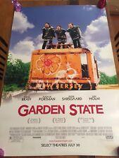 GARDEN STATE Original SS Movie Poster, 27X40 (2004)