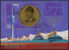 Guinea Ecuatorial Juegos Olímpicos de 1972, Cto utilizado Imperf m/s #a 92630