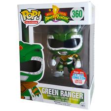 Funko Pop Vinyl Metallic Green Power Ranger NYCC 2016 (with Sticker) Rare # 360