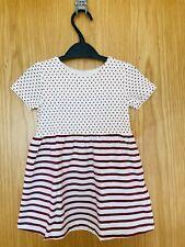 Organic Cotton Baby girl Dress, 9-12 Months (EU 80)