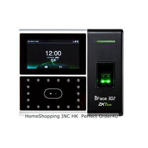 ZKsoftware Biometric Face +Fingerprint +PIN Attendance Time Clock Access Control
