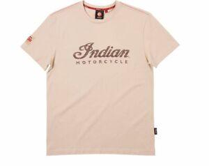 INDIAN OEM MEN LOGO SHORT-SLEEVE TEE, CREAM P/N 2863658 **