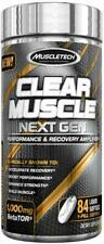 MuscleTech Clear Muscle Next Gen Liquid Soft Gel - 84 Count + Free Sample
