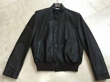 Zegna Men's Leather Jacket 38 Brown NWOT $1899
